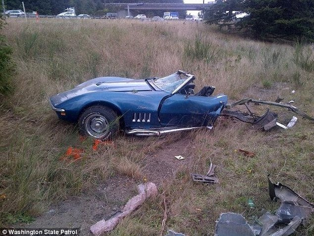Pictures Jourdan Bradley Crashes Corvette While Racing Suv