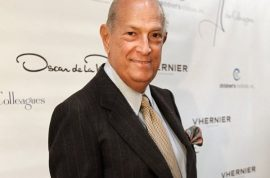 Oscar de la Renta dead at 82. Cancer beat him