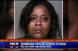 Shanesha Taylor too broke to put $60 000 into a child's trust fund after receiving $114K donations.