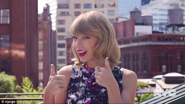 Taylor Swift NYC ambassador