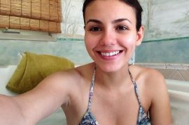 Victoria Justice bikini cell phone video leak
