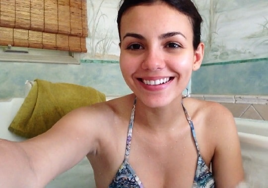 Victoria Justice bikini cell phone video leak