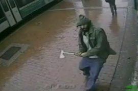 Zale Thompson slashes cops with hatchet. Part of terrorist network?