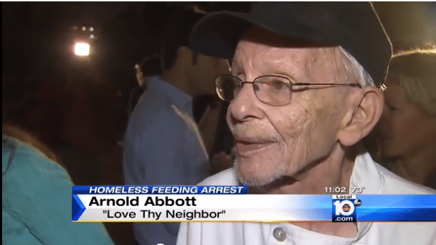 Arnold Abbott arrested