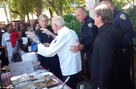 Right decision? Arnold Abbott arrested feeding Fort Lauderdale homeless