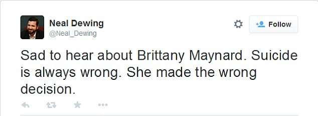 Brittany Maynard suicide
