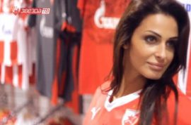 Pictures: Katarina Sreckovic, Serbian soccer reporter asked to leave sideline cause she's too attractive