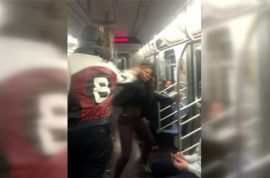 Jorge Pena won't be charged for slapping F train woman. Will sue NYC.
