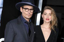 Johnny Depp drunk. Amber Heard may break up now