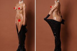 Video: Kim Kardashian naked breaks the internet and then some