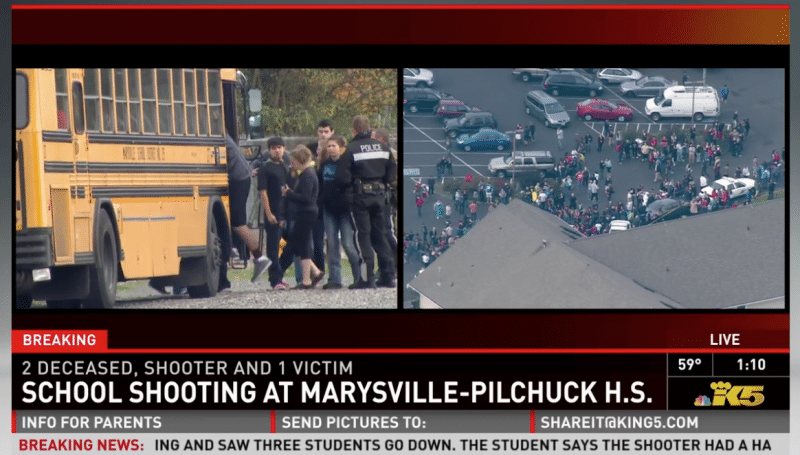Marysville HS shooting 911 call