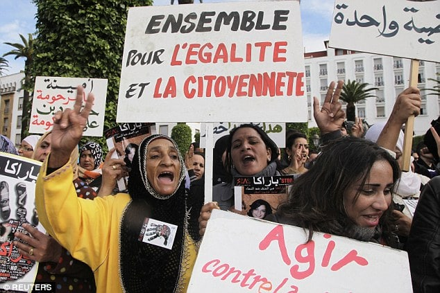 Teenage Moroccan girl forced to marry her rapist