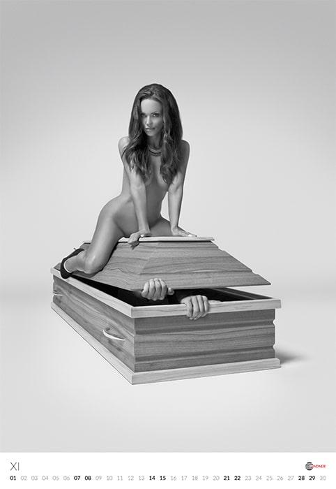 Lindner Coffin Calendar 2015