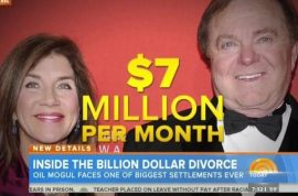$1 billion divorce. Does Sue Ann Hamm deserve more than what she got?