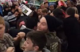 Black Friday 2014: Walmart, Best Buy shopping clashes, punch ups. Yippee.