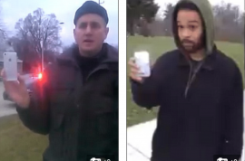 Why cop was right to detain Brandon McKean, black man walking with his hands in his pockets.