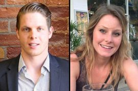 How Jordan Axani found Elizabeth Gallagher replacement to join him on free world trip.
