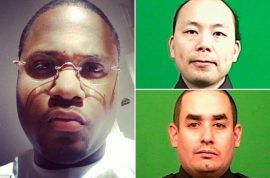 Wenjian Liu murdered cop was newly married. Rafael Ramos father of two.