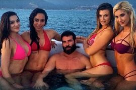 Dan Bilzerian arrested. Explosives charges, faces 6 years jail