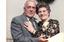 Giuseppe and Livia Fortuna, couple married for 69 years die hour apart from each other