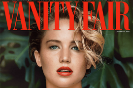 Jennifer Lawrence leaked naked pictures, the biggest story of 2014
