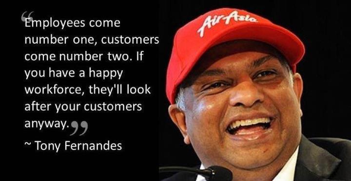 Air Asia CEO Tony Fernandes