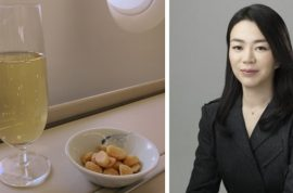 Cho Hyun-ah, Korean Air Lines VP resigns over macadamia hissy fit. Faces jail.