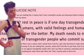 Leelah Alcorn, Transgender teen suicide: 'My Christian parents caused my death.'