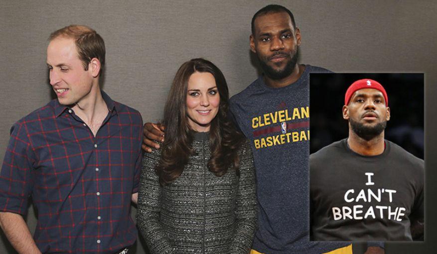 LeBron James Kate Middleton