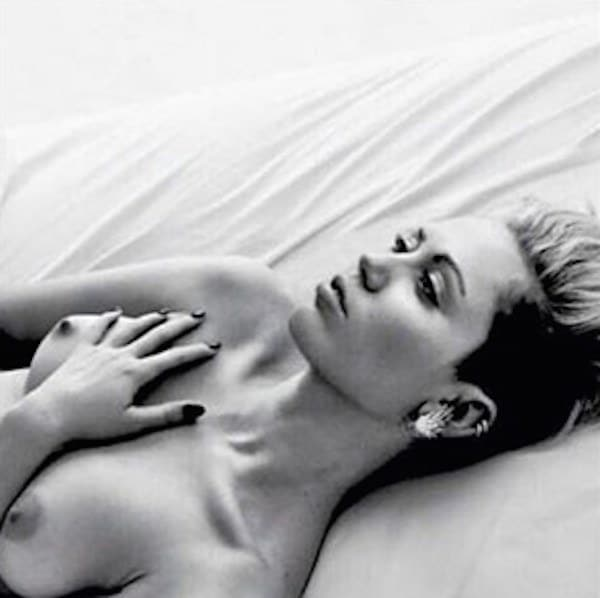 Miley Cyrus Free The Nipple