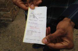 Marquis Moore, black diner finds 'nigga' scrawled on restaurant receipt. Just a joke?