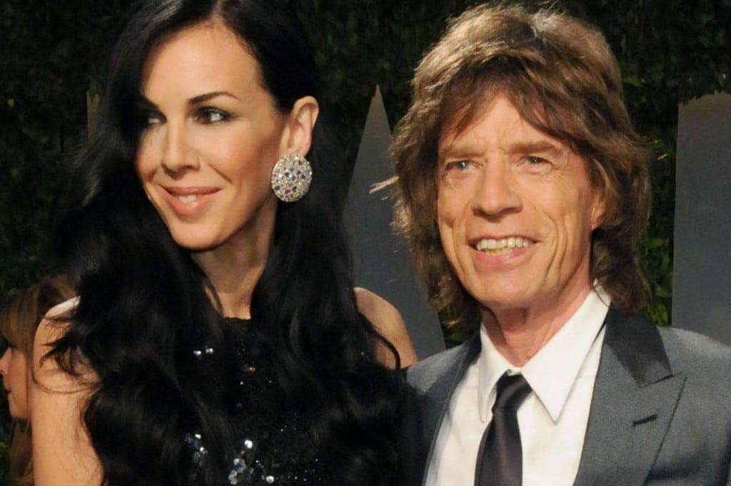 Mick Jagger Melanie Hamrick