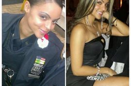 Blueline Beauties: Female cops face sack for posting sexy pictures in uniform.
