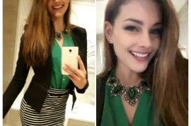 Pictures: How Rolene Strauss Miss South Africa overcame weight gain issues to be Miss World 2014