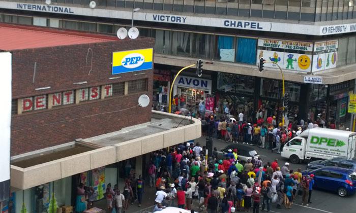 Suicidal Johannesburg man jumps to his death