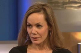 Oh really? British socialite Tara Palmer-Tomkinson throws first class fit
