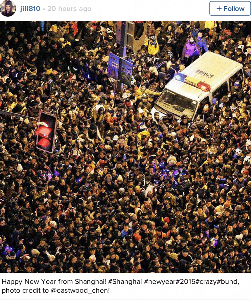 Shanghai New Year's eve stampede