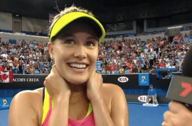 Eugenie Bouchard twirl: Australian Open sexism at its best.