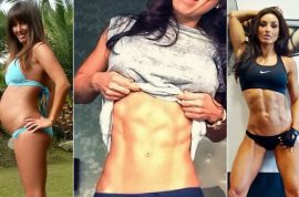 Fat shaming: Does Abby Pell's six pack demean women?