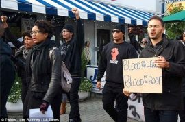 Bad idea? Black Brunch demonstrators storm restaurants targeting white diners.