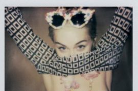 NSFW: Miley Cyrus nipples can't resist appearing on instagram (again).