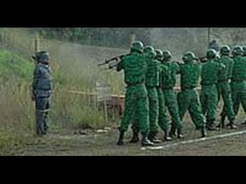 Indonesian firing squad