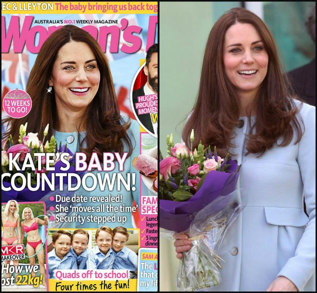Kate Middleton Woman's Day magazine cover