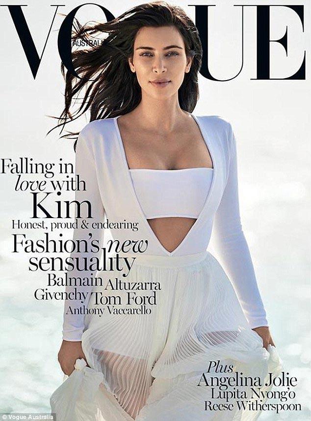 Kim Kardashian Vogue Australia