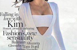 Kim Kardashian snags Vogue Australia solo. Another sell out