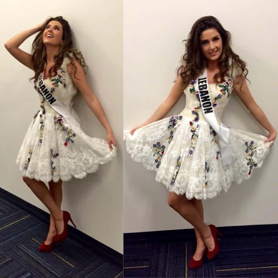 Miss LebanonSaly Greige