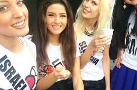 Should Miss LebanonSaly Greige have apologized for Miss Israel selfie bomb?