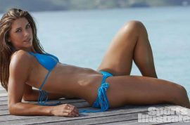 Video: Alex Morgan US Soccer star wants you to drool. Stars in Sports Illustrated Swimsuit 2015