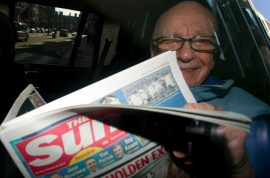 The fallacy of Rupert Murdoch. Tweets all Muslims are responsible for Charlie Hebdo.