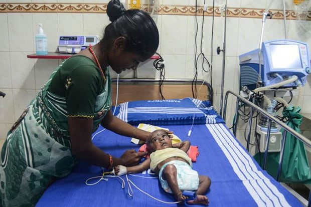 Indian baby spontaneously combust